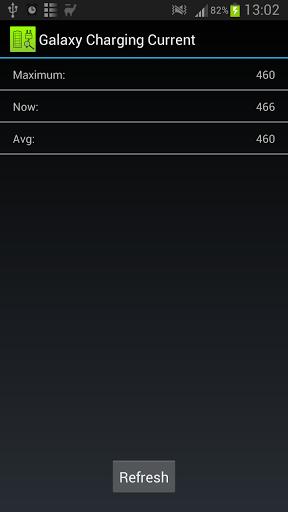 Galaxy Charging Current screenshot 1