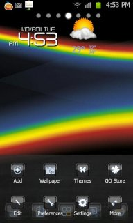 BlackBerry Theme Go LauncherEX screenshot 3