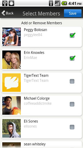 TigerText Free Private Texting screenshot 5