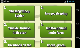 Kids Karaoke Screenshot