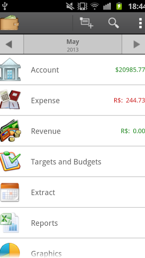 Personal Finance Management Screenshot