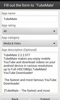 Aptoide Uploader screenshot 3