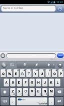 iPhone TouchPal Skin Screenshot