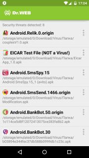 Dr.Web Anti-virus Light (free) screenshot 5