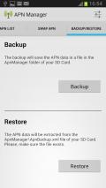 APN Manager Pro Screenshot