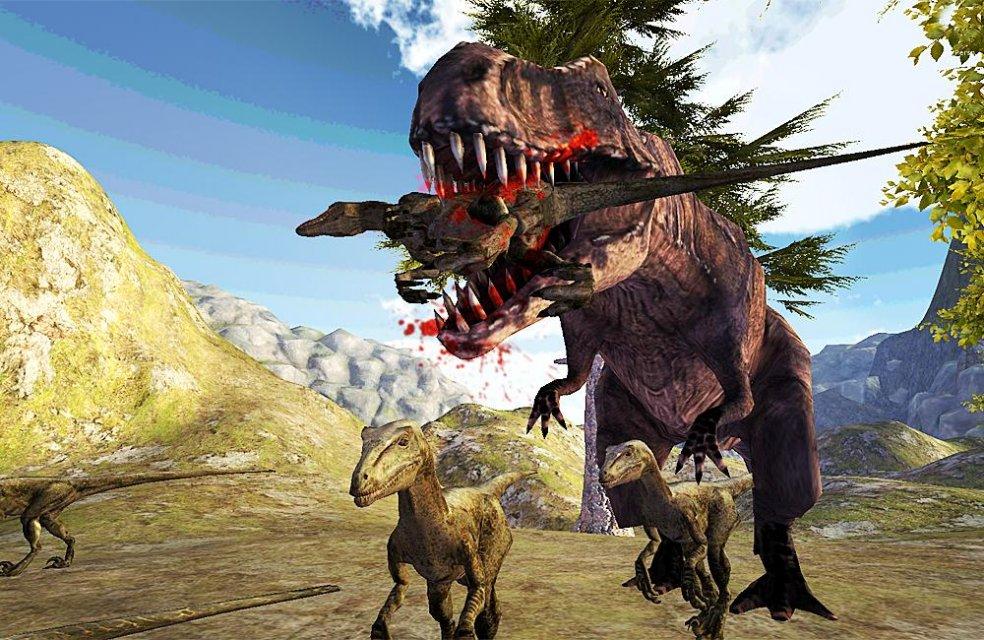 侏罗纪恐龙t-rex3d模拟器超级特点:  ★控制恐龙  ★现实生存游戏