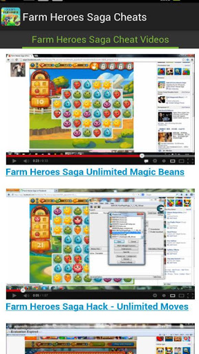 Farm Heroes Saga Cheats Screenshot
