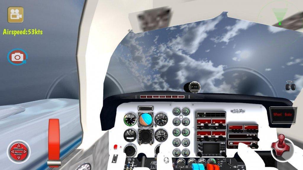飞机3d飞行模拟器截图6