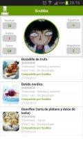 Recetario, recetas de cocina Screenshot