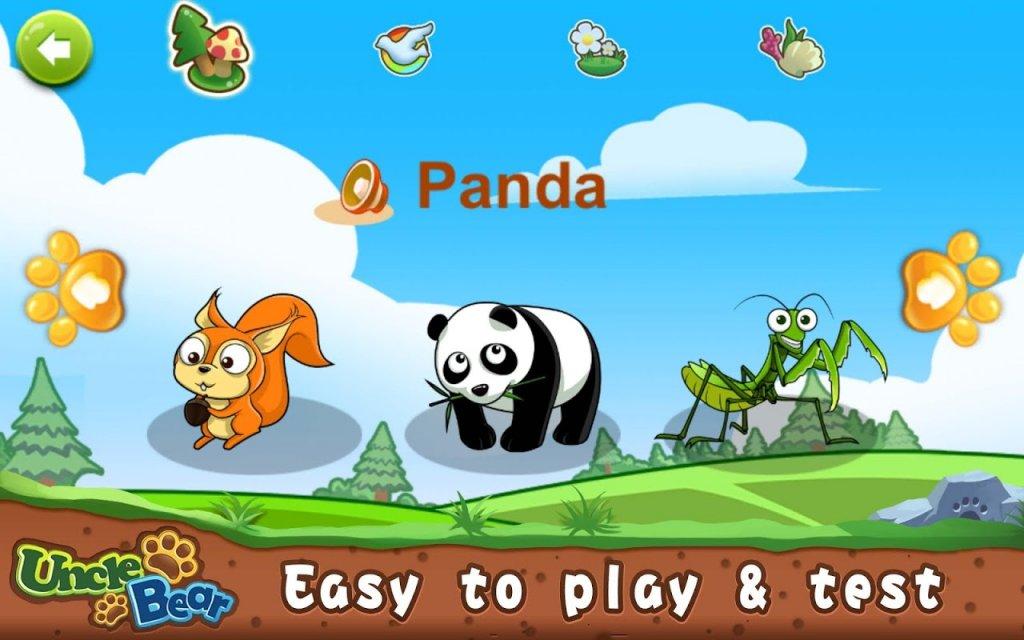 宝宝拼图:动物合集屏幕截图