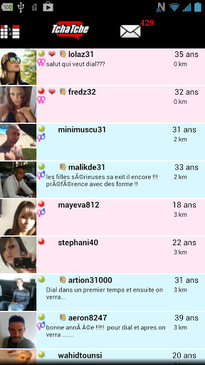 Tchatche : chat gratuit screenshot 1
