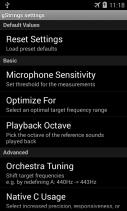 Tuner - gStrings Free Screenshot