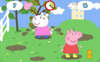 Peppa Pig - Happy Mrs Chicken Screenshot