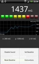 EMF Meter Screenshot