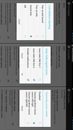 GravityBox - Xposed Tweek Box screenshot 3