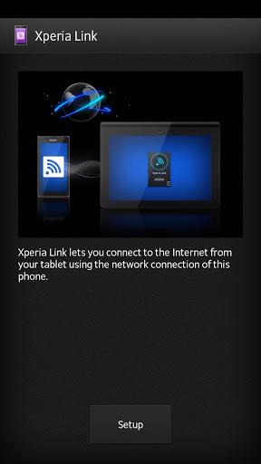 Xperia Link™ Screenshot