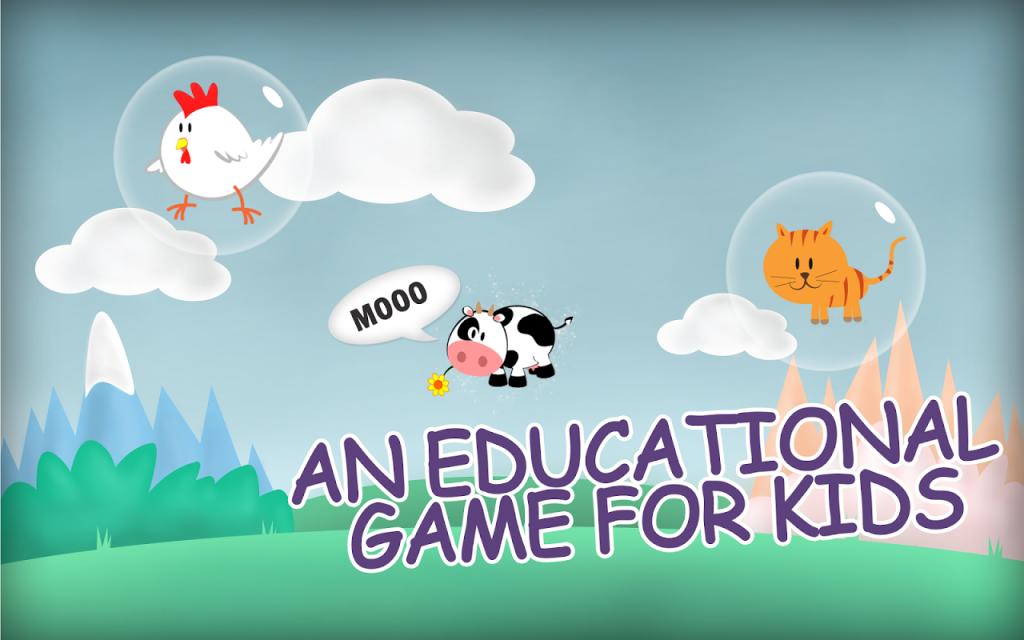 气泡式说话是一种儿童教学游戏屏幕截图