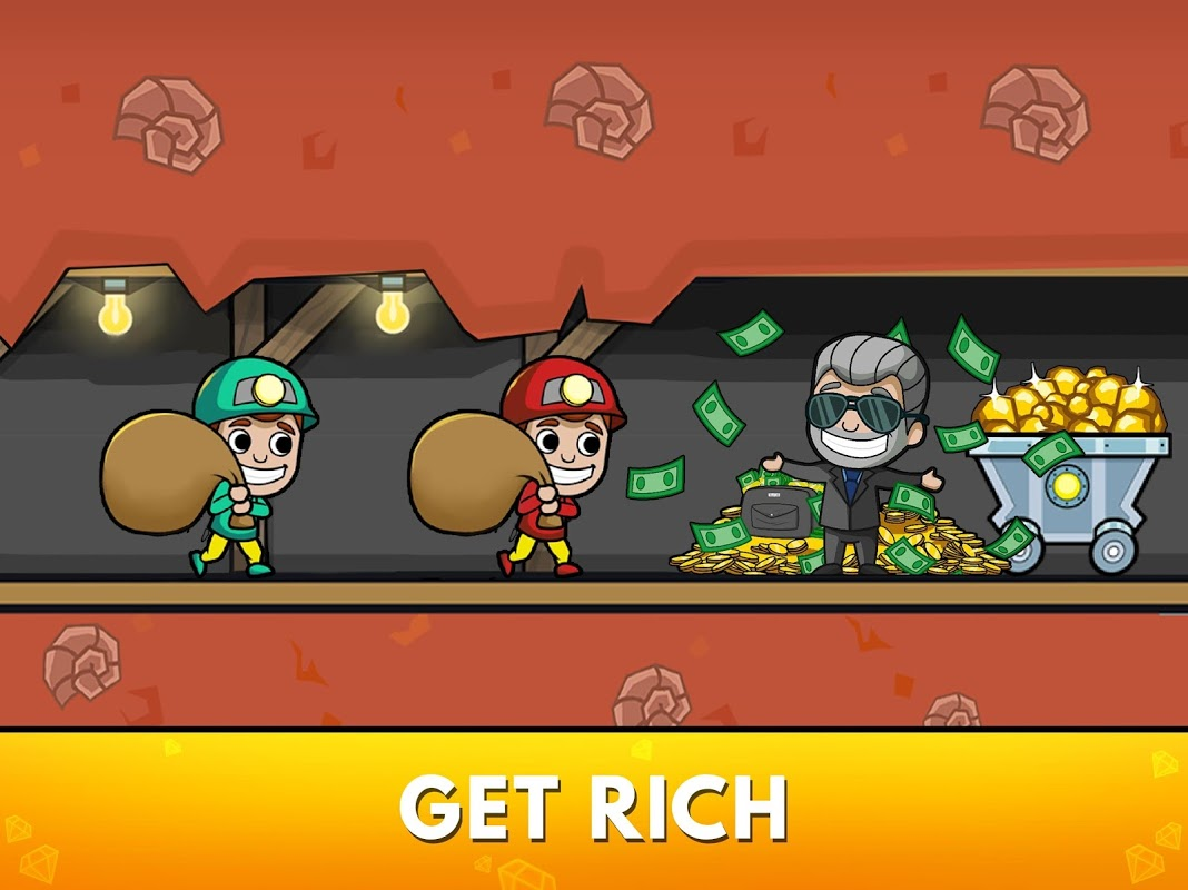 Idle Miner Tycoon - Mine Manager Simulator screenshot 2