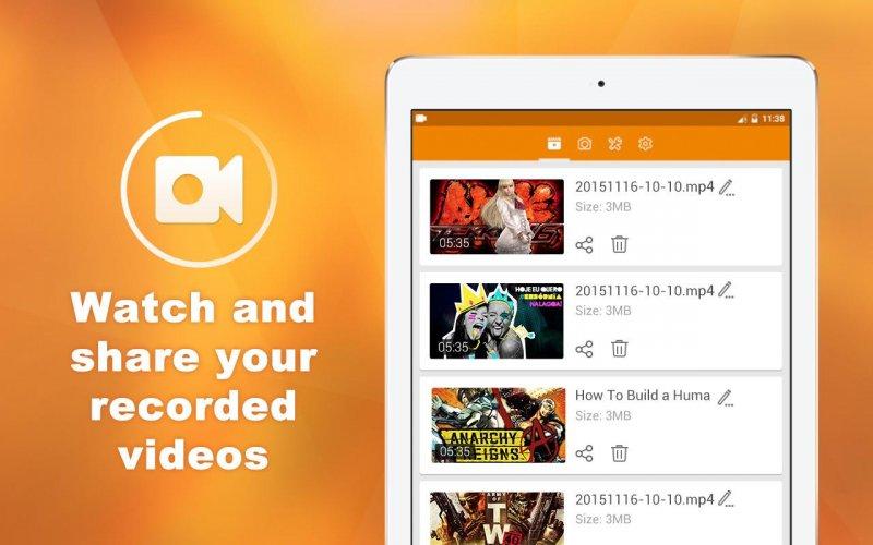 DU Recorder � Screen Recorder & Video Editor screenshot 3
