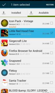 Aptoide Backup Apps screenshot 3