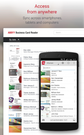 Business card reader free 4905 download apk for android aptoide business card reader free screenshot 11 reheart Images