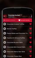 Chocolate Recipes Screen