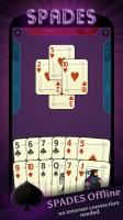 Spades Offline Screen