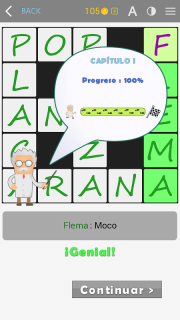 Crosswords - Spanish version (Crucigramas) screenshot 15