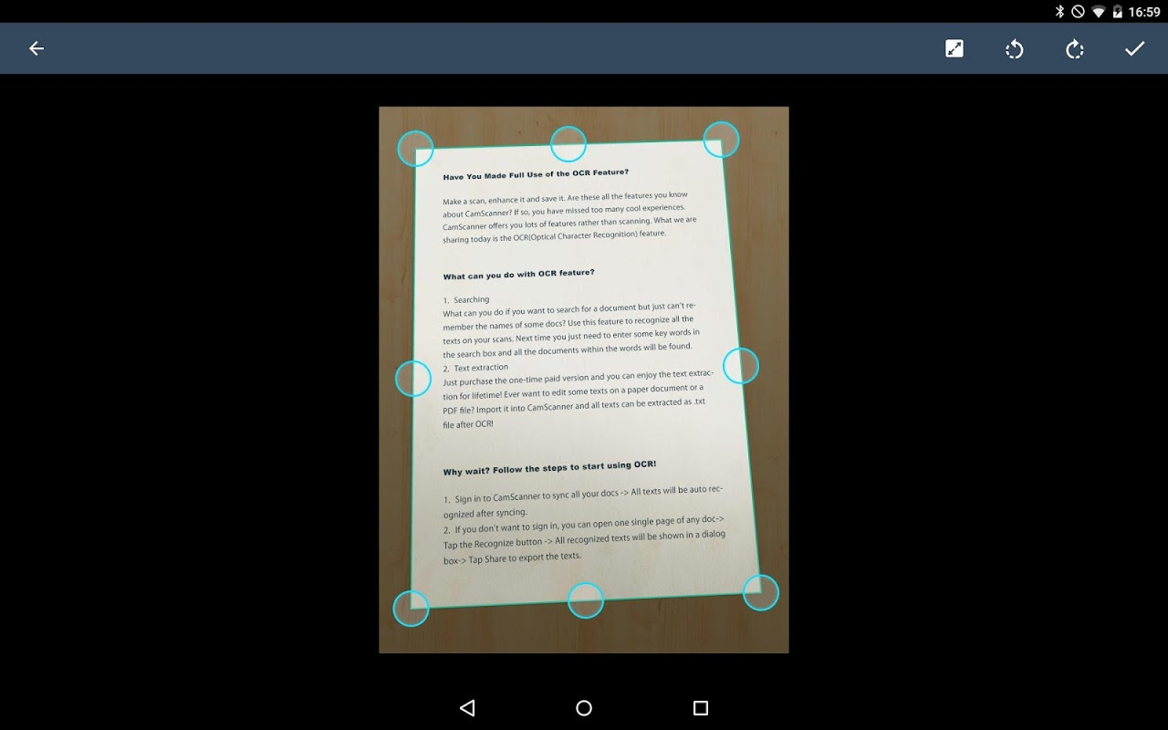 CamScanner - Phone PDF Creator screenshot 2