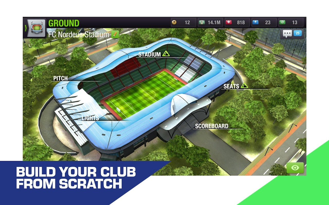 Top Eleven 2019 - Be a Football Manager screenshot 9