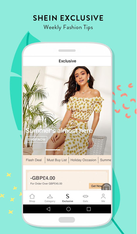 8a8cd68e54 SHEIN-Fashion Shopping Online 6.6.6 download APK Android | Aptoide