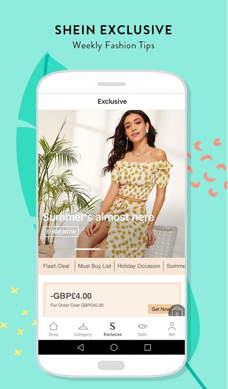 583bb6eddb019 SHEIN-Fashion Shopping Online 6.6.6 download APK Android | Aptoide