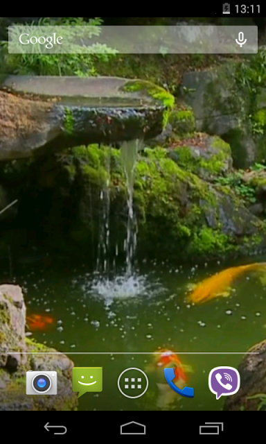 Pond with koi live wallpaper download apk for android for Koi pond app