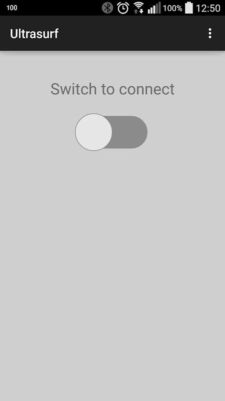 Ultrasurf (beta) - Unlimited Free VPN Proxy screenshot 1