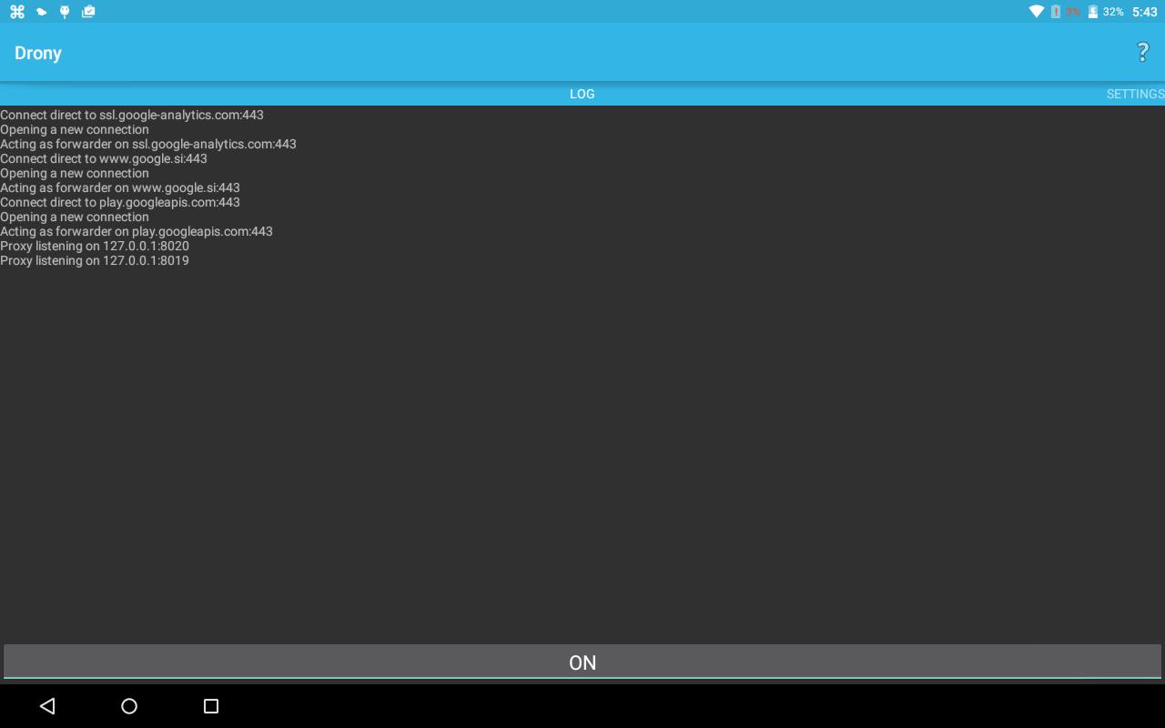Drony screenshot 1
