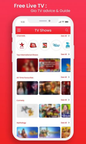 Free Live TV - Gio Tv Advice & Guide New Update Download APK