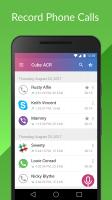 Cube Call Recorder ACR Screen