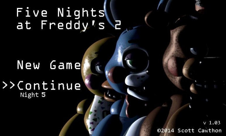 Five nights at freddy's 2 demo free download of android version.