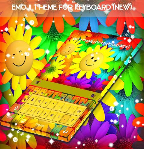 Vá teclado Emoji Tema screenshot 1