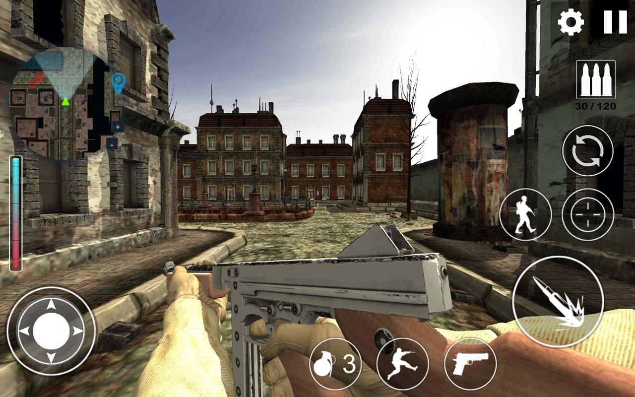 World War 2 : WW2 Secret Agent FPS screenshot 1
