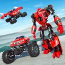 Flying  Robot  Monster  Truck  Battle  2019