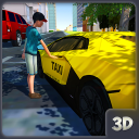 City Taxi Driver 2018: Car Driving Simulator Game