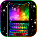 Neon Color 3d Keyboard Theme
