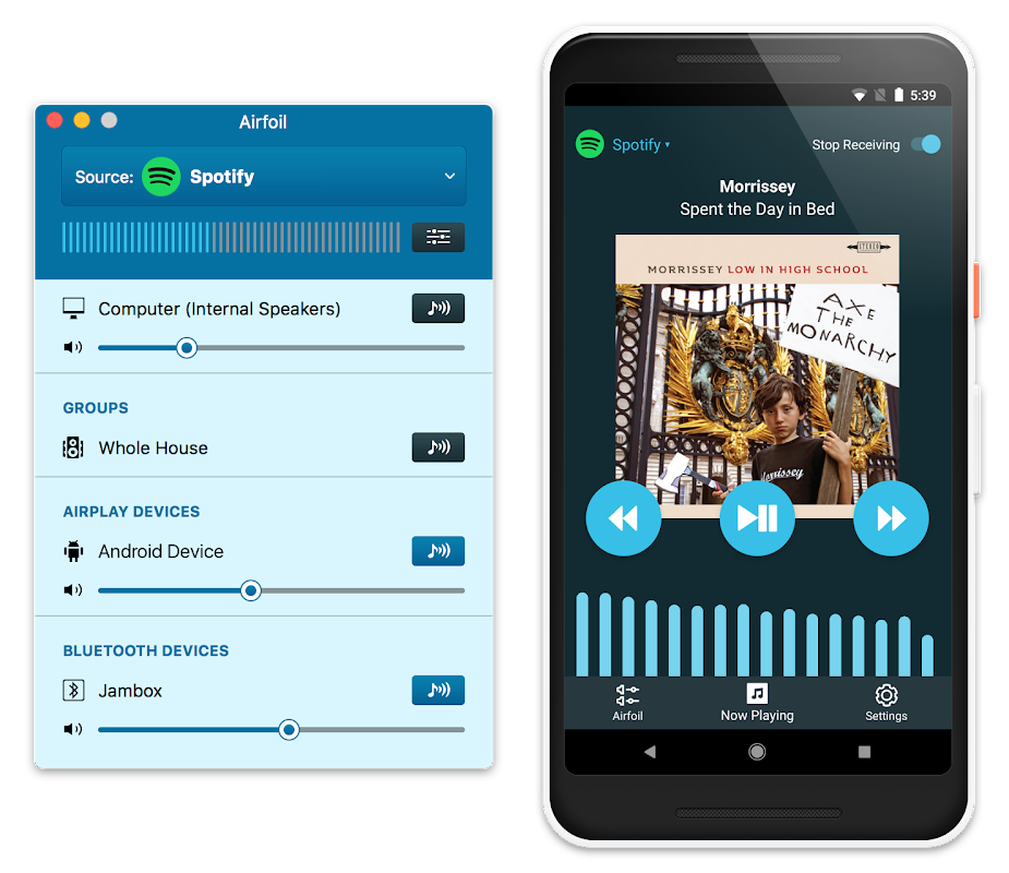 Airfoil Satellite for Android screenshot 1