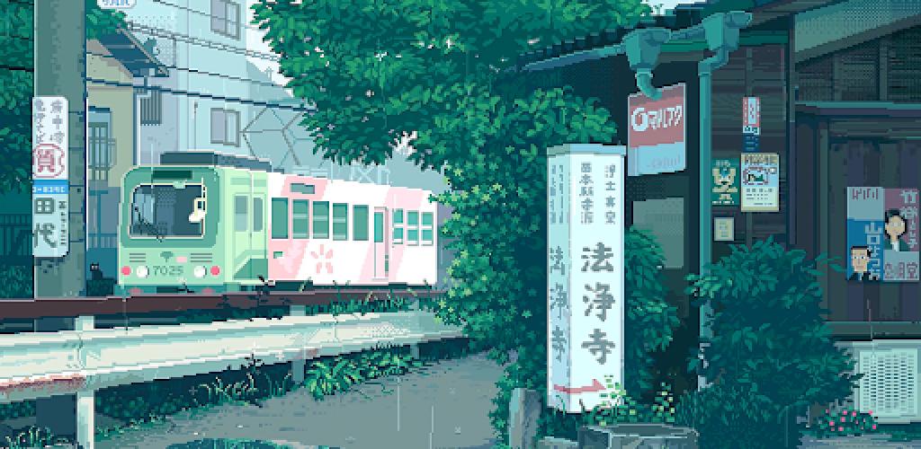 Rain Pixel Art 2D Live Wallpaper 2.04 Download Android APK ...