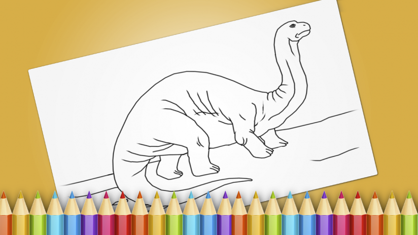 Dinosaurs Coloring Book Game Screenshot 8