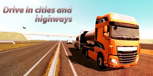Truck Simulator : Europe screenshot 1
