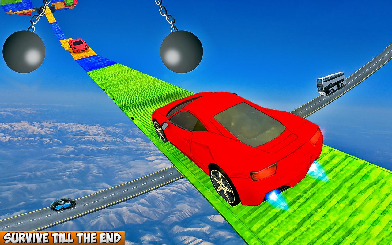 Car Driving On Extremely Impossible Tracks screenshot 1