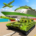 US Army Transport Game – Cargo Plane & Army Tanks