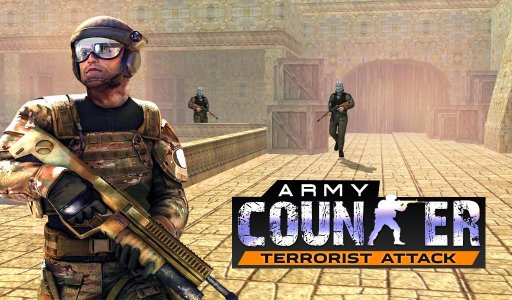 Army Counter Terrorist Attack Sniper Strike Shoot screenshot 1